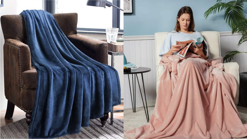 Bedsure Fleece Blanket Throw