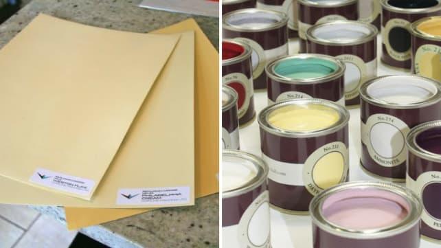 Sampling-paint