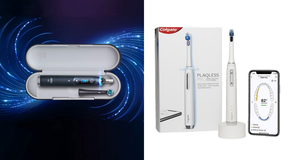 Colgate Plaqless Pro & Oral-B iO: How smart does a toothbrushe need to be?