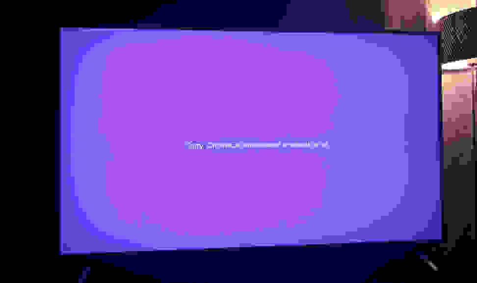 Vizio-PSeries-Chromecast-error