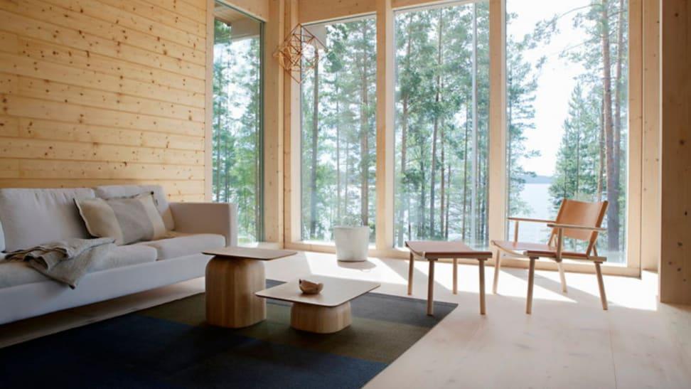 Japandi-style living room