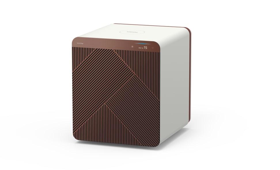 Samsung's new Bespoke Cube air purifier makes saving energy sleek and easy