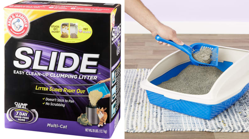 Arm & Hammer Litter Multi Cat Slide Easy Clean-Up Clumping Cat Litter