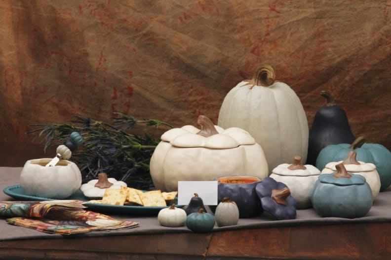 Teal-and-white-pumpkins