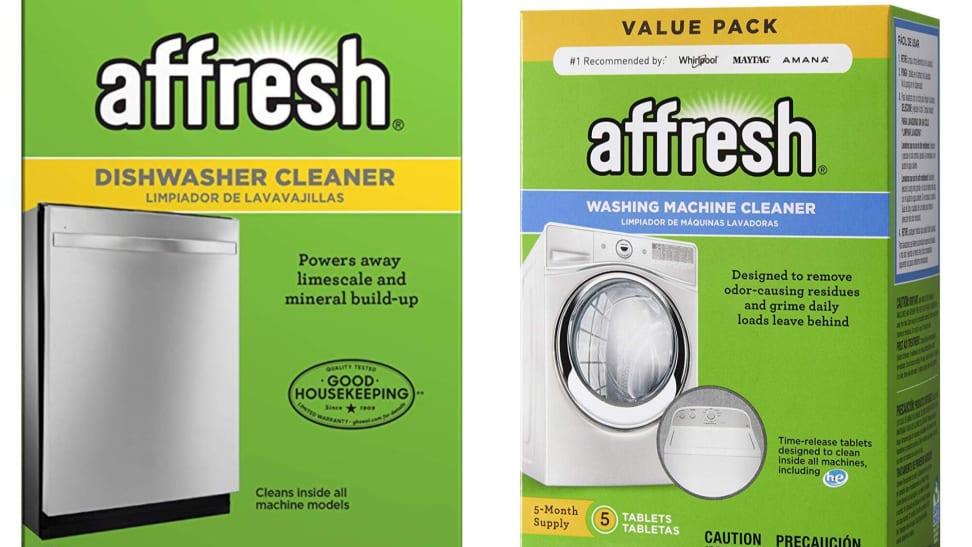 Affresh dishwasher cleaner and washing machine cleaner