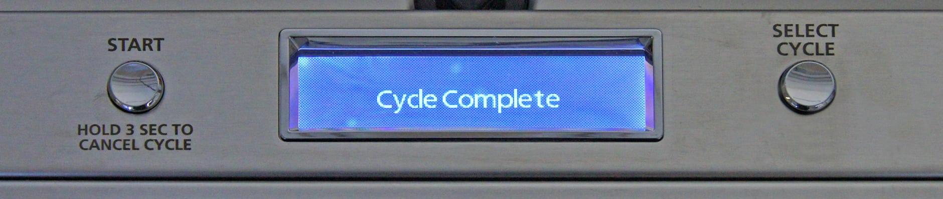 GE Monogram ZDT800SSFSS LCD screen