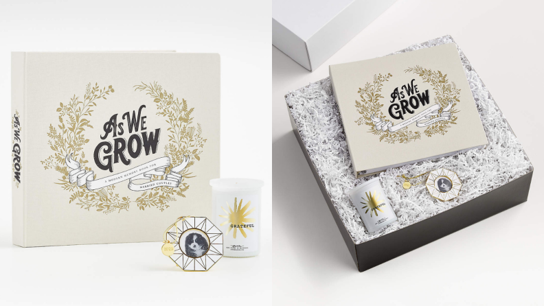 Best engagement gifts: As We Grow gift set
