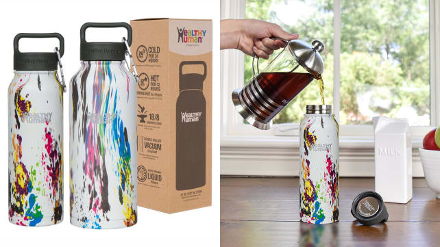 Healthy Human Stainless Steel Water Bottle