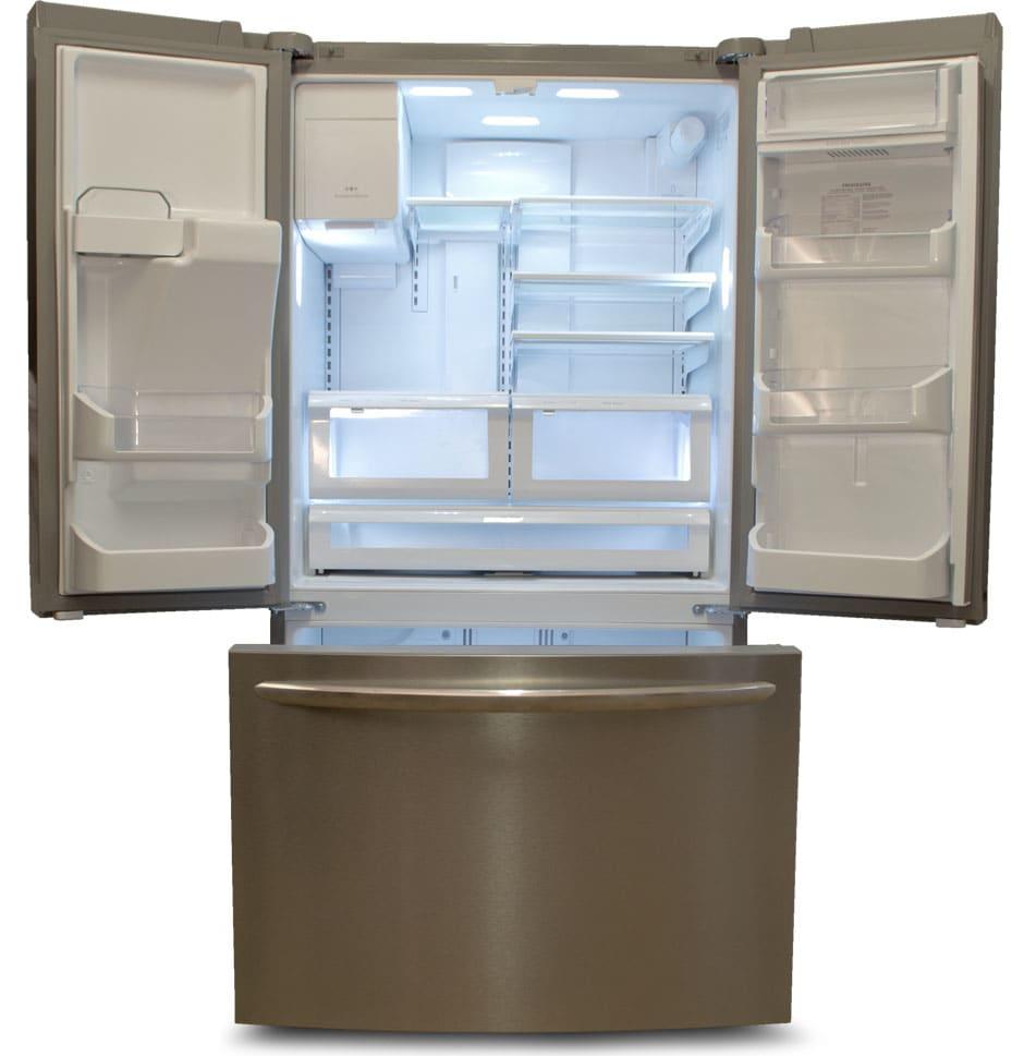 Kitchen Open Shelving Depth: Frigidaire FGHF2366PF Counter-Depth Refrigerator Review