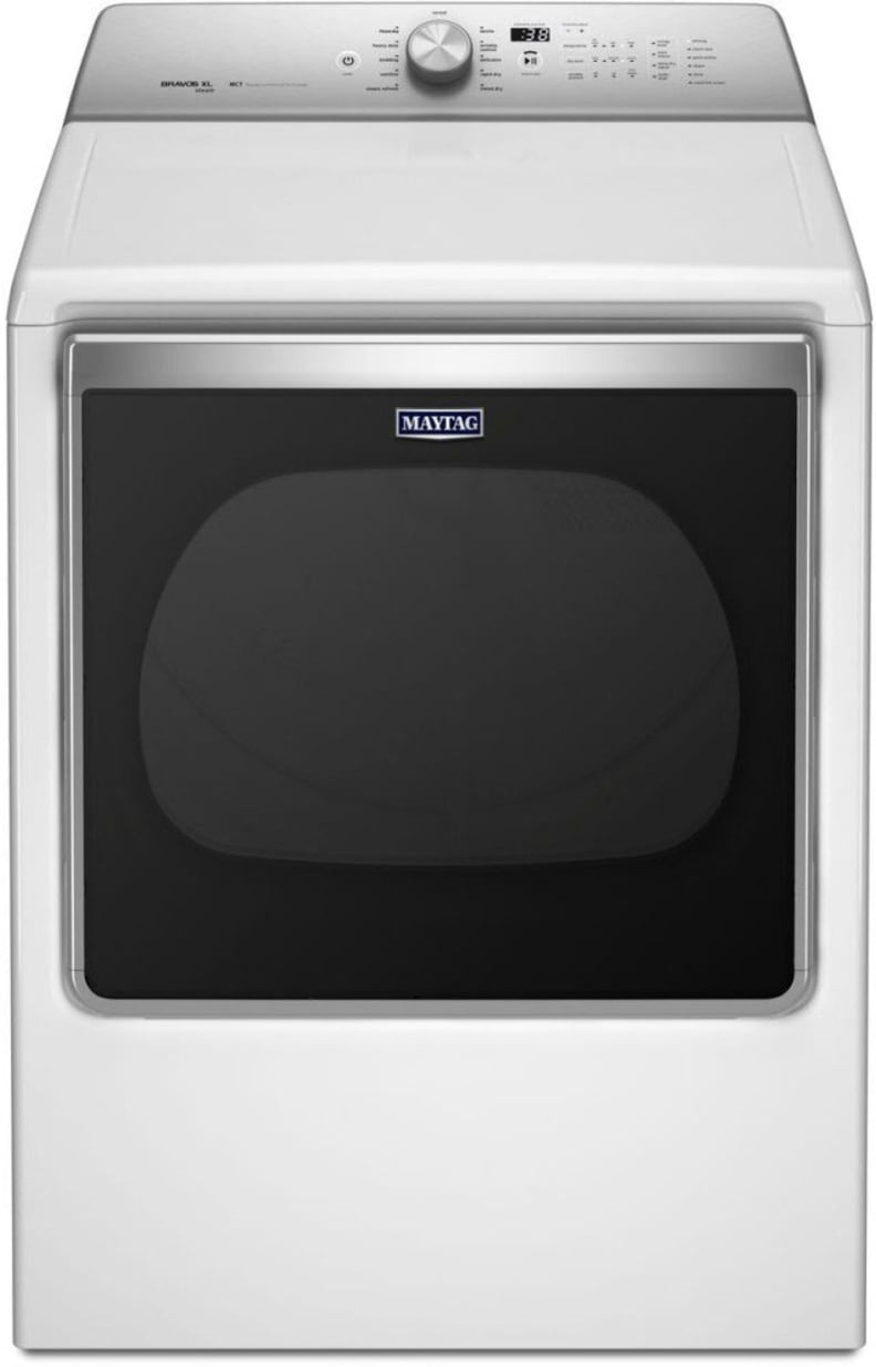 The Maytag Bravos MGDB855DW is an 8.8-cu.-ft. dryer with steam and a drying rack. What more do you need?