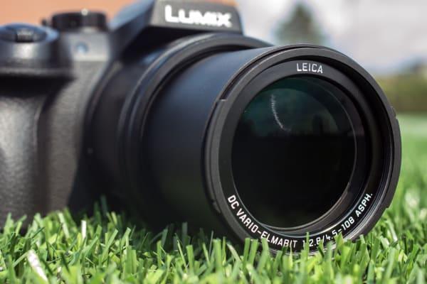 The Panasonic Lumix DMC-FZ300 has a 25-600mm (35mm equivalent) zoom.