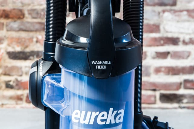 Bagless vacuum washable filter