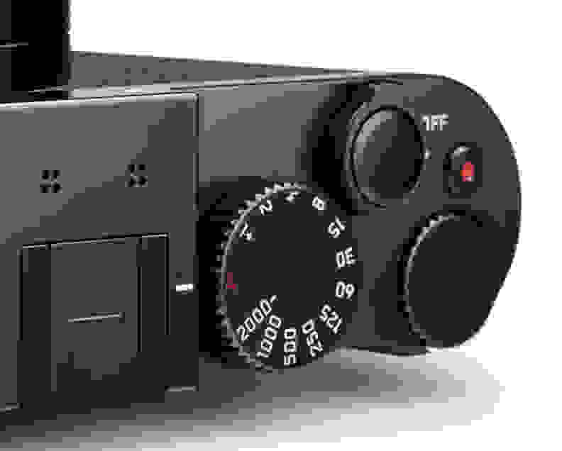Leica Q Shutter Dial