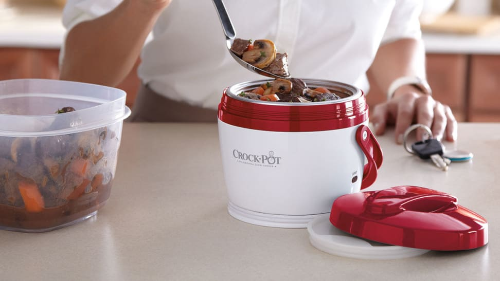 This portable Crock-Pot lets you enjoy a hot meal without a microwave—and it's only $15 right now