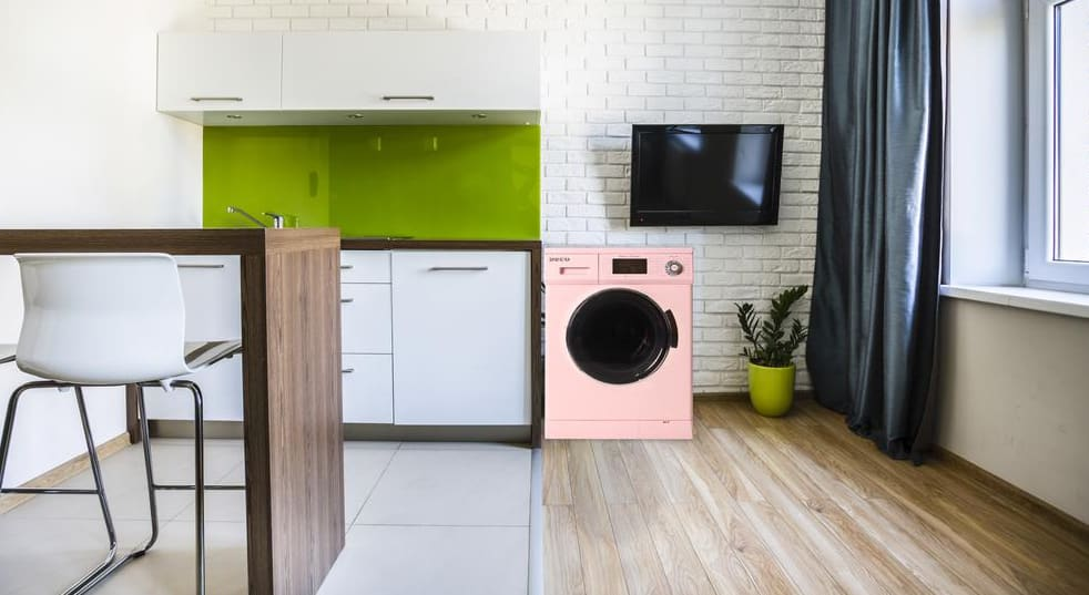 The Super Combo is a washer dryer combo that can be a condenser and vented.