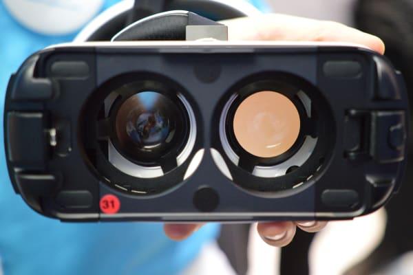 The Gear VR lenses