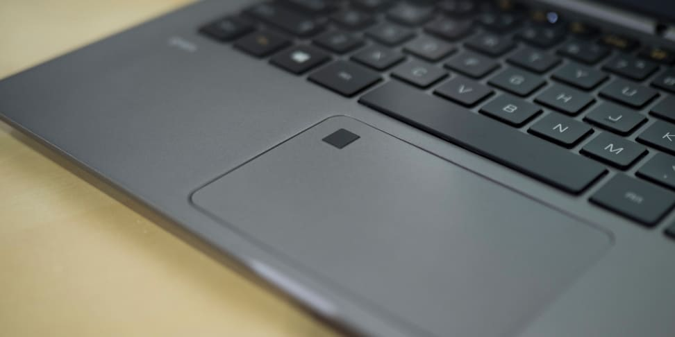 LG Gram 13 Trackpad