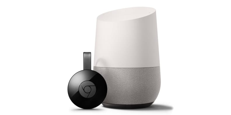 Google Home and Chromecast