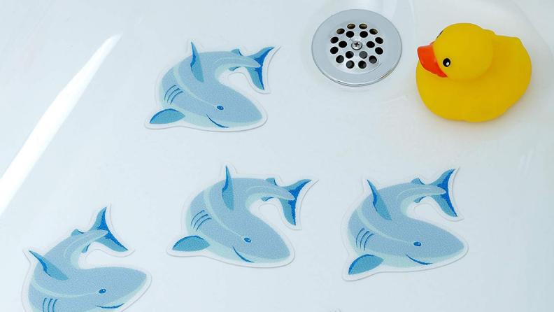 SlipX Shark Bath Treads