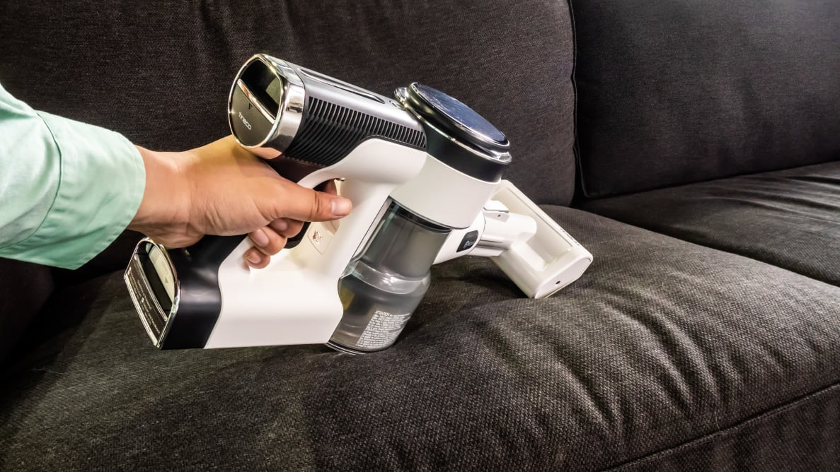The Tineco Pure One S12 is a techie's cordless vacuum