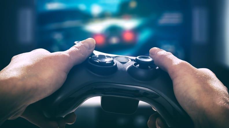 A Gamer Gaming
