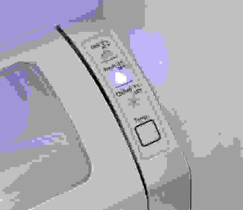 Samsung RF260BEAESR Pantry Drawer Controls