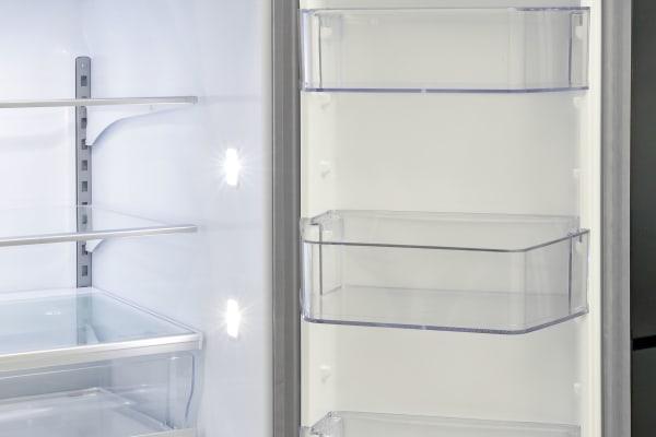 The Whirlpool WRV986FDEM's right hand fridge door offers plenty of gallon-deep storage.
