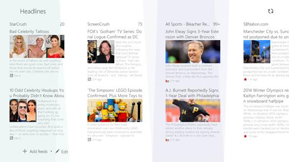 Socialife, Sony's news aggregator