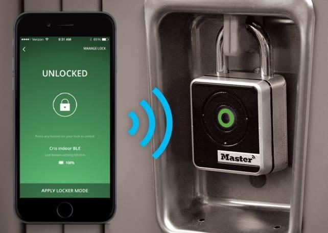 Master Lock Bluetooth Indoor Padlock
