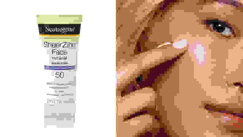 Neutrogena Sheer Zinc Face Mineral Sunscreen