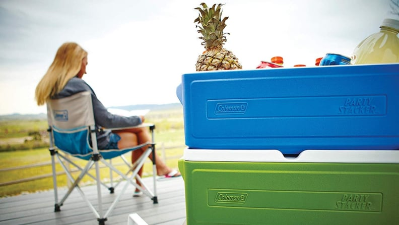 The most popular coolers on Amazon - Coleman Party Stacker