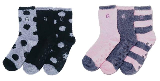Noble Mount fuzzy socks