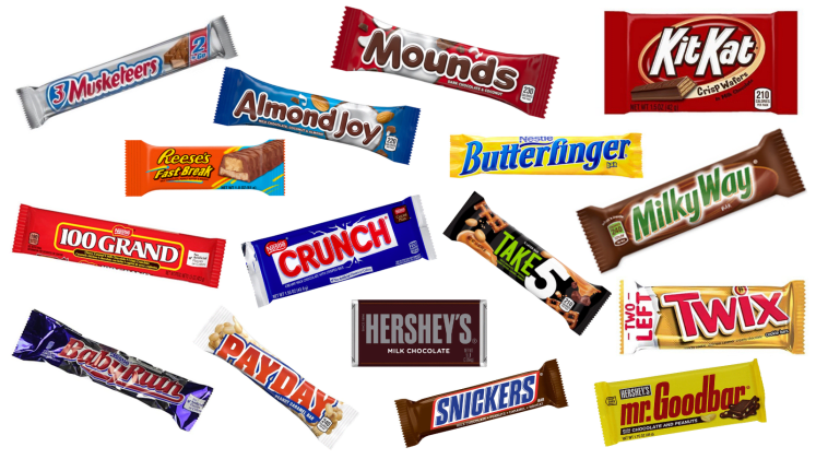 We Tested 16 Popular Candy Bars And This Was The Best One Reviewed