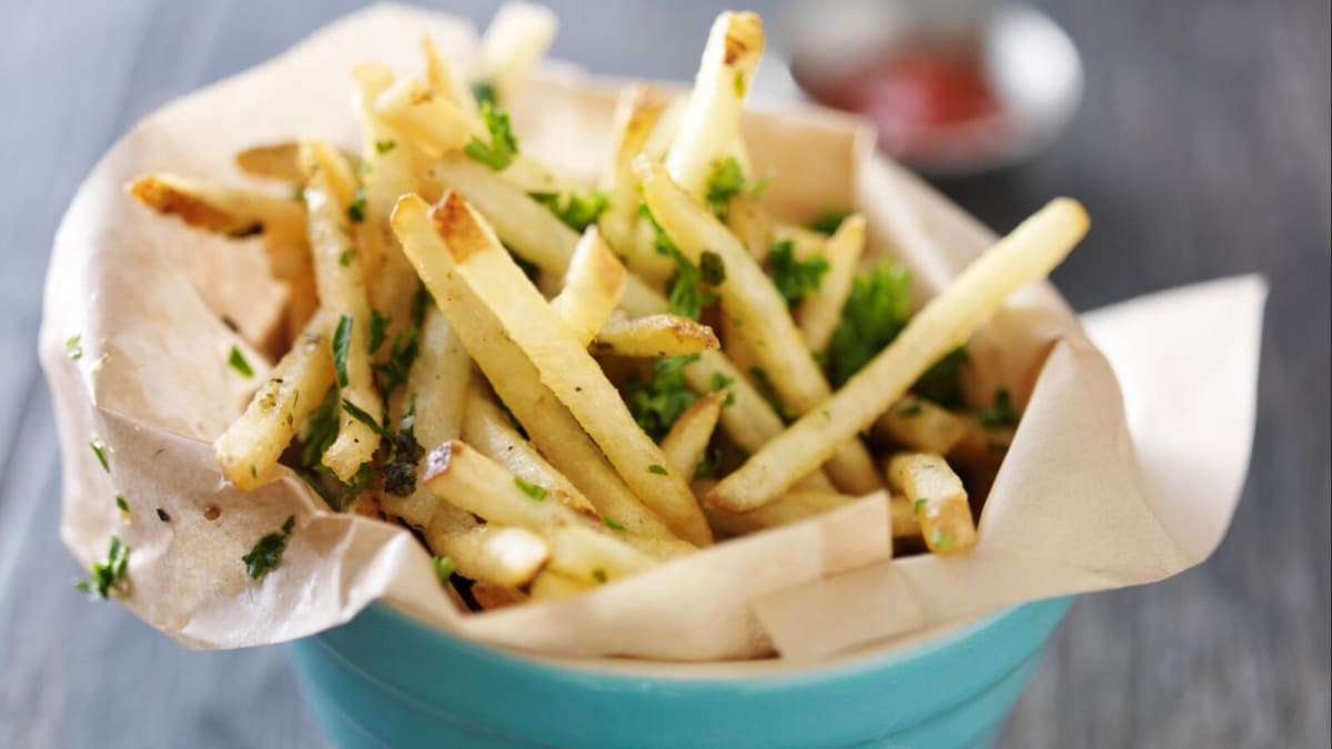 Here's the secret to perfect air fryer french fries