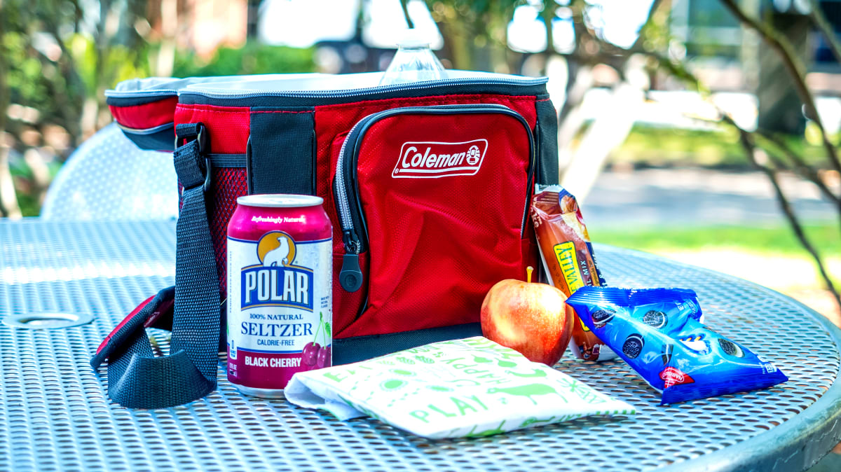 ZYEZI Lunch Cooler Bag Port/átil Reutilizable Resistente Al Agua con Aislamiento Bento Box Bags para Picnic School Office Travel Organizer