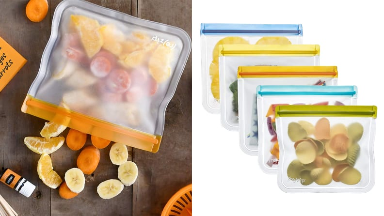 Rezip Lay-Flat Lunch Leakproof Reusable Storage Bag