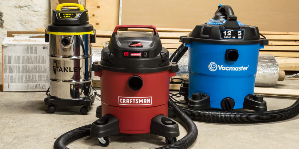 The Best Wet/Dry Vacuum Cleaners