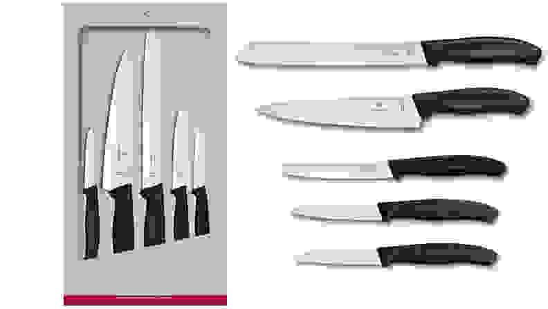 The Victorinox Swiss Classic Kitchen Knife Set.