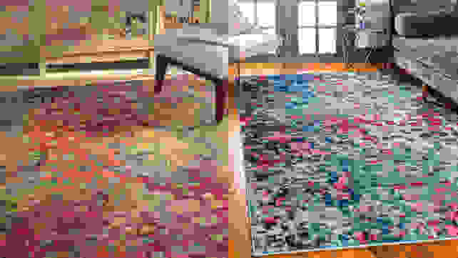 Massaoud Multi-colored Area Rug