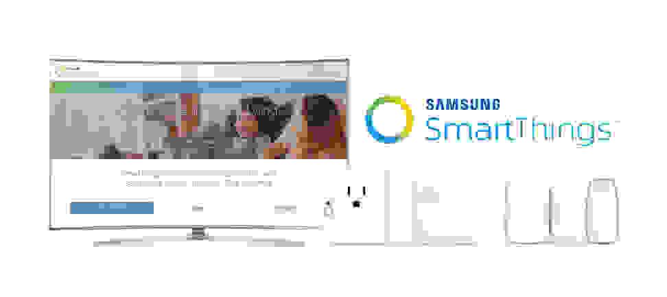 Samsung SmartThings SUHD TV app and SmartThings sensors
