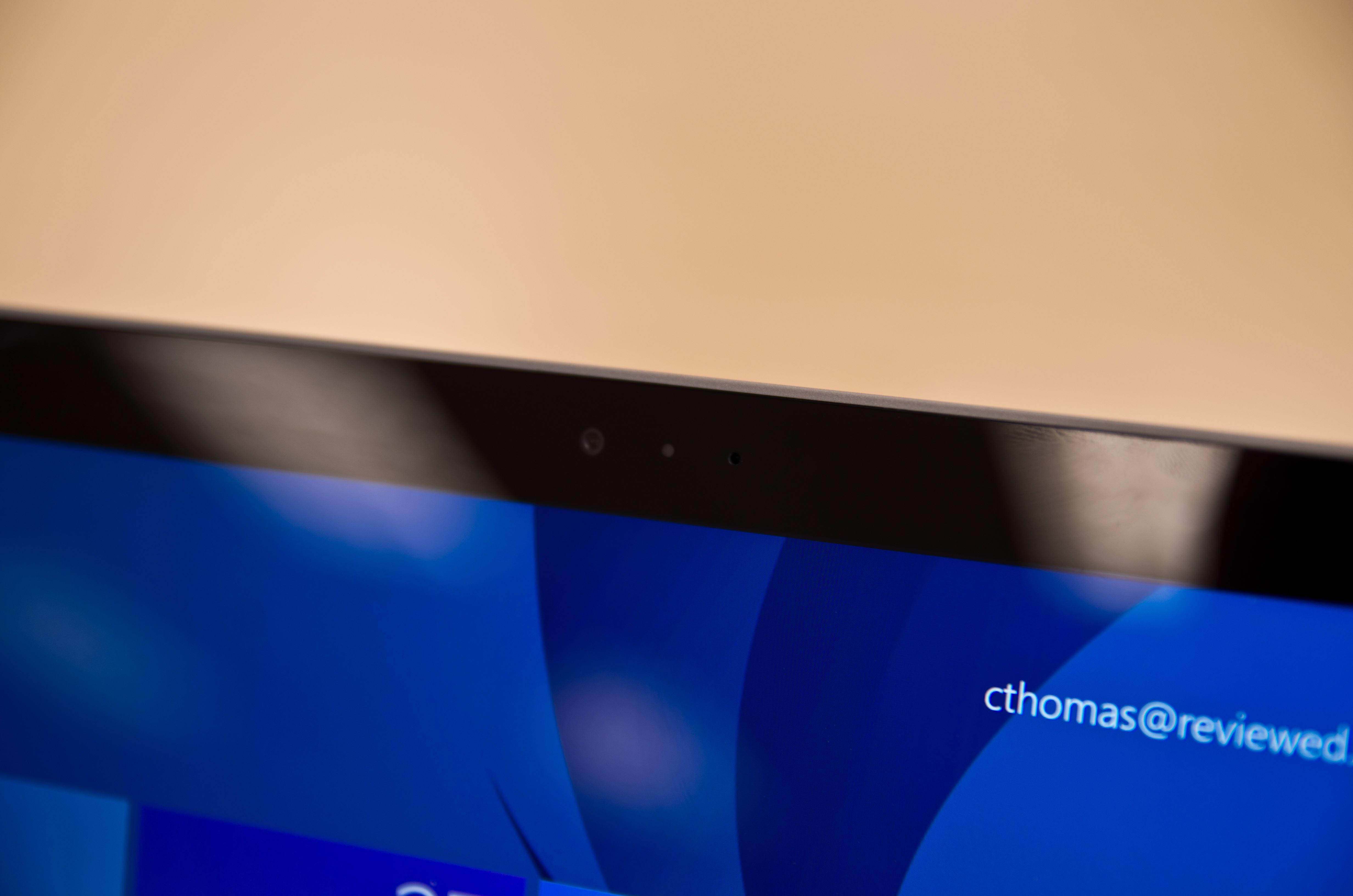 A closer look at the Microsoft Surface Pro 3's user-facing camera.