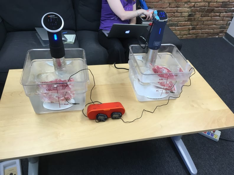 Immersion circulator testing