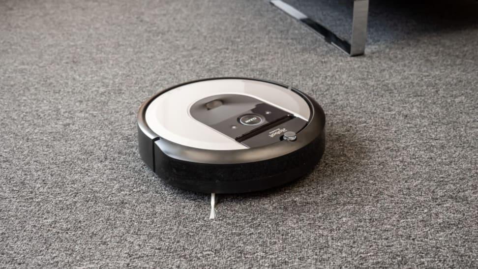 The iRobot Roomba i6+.