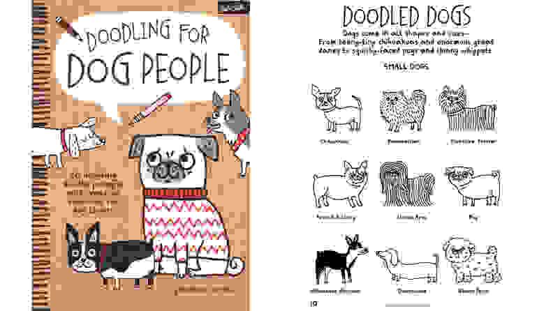 Doodling for Dog People Activity Bok