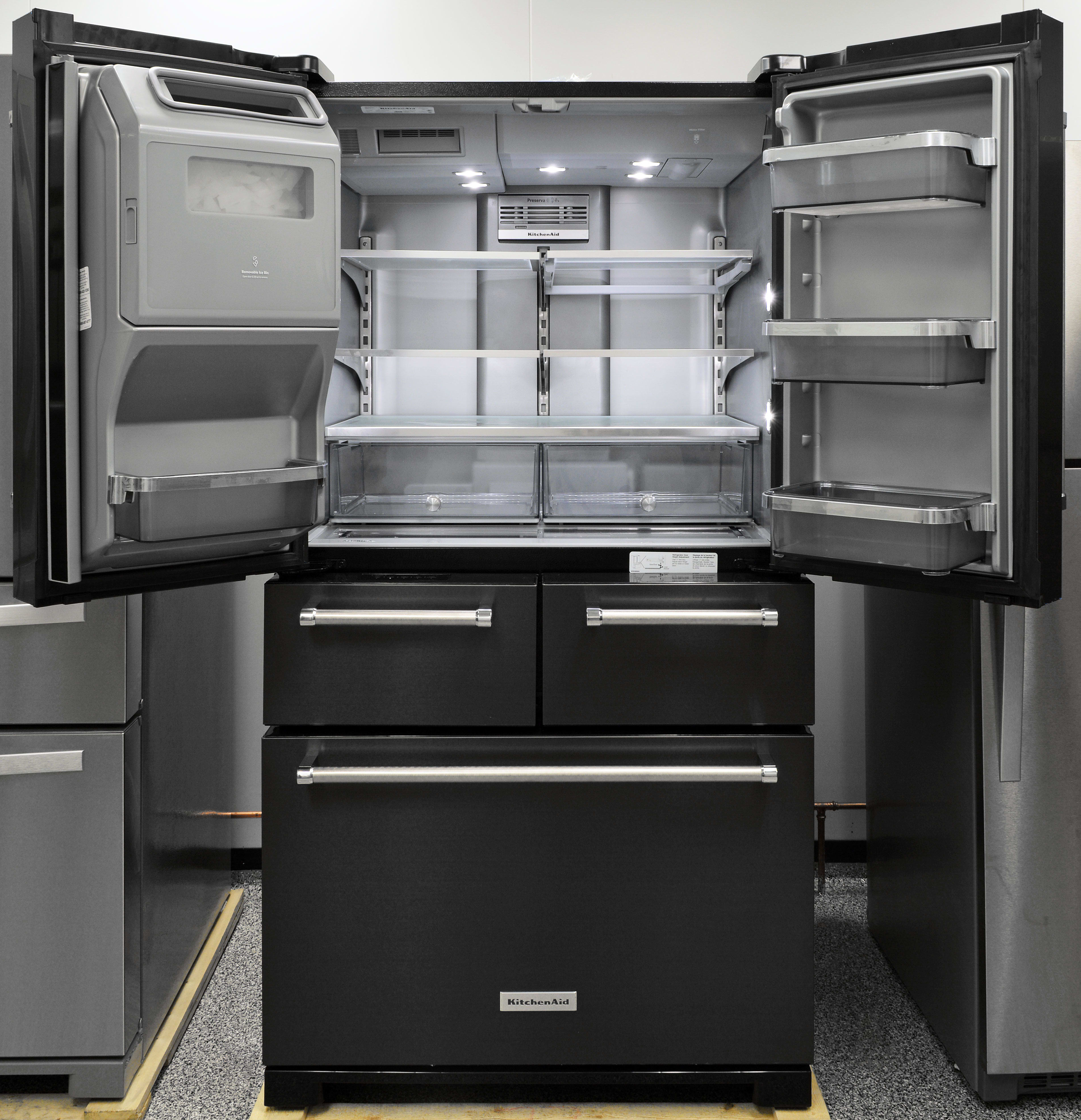 Kitchenaid Krmf706ebs French Door Refrigerator Review Reviewed