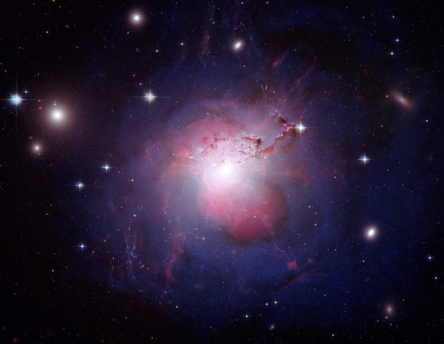 The Monster Galaxy at the Heart of the Perseus Cluster