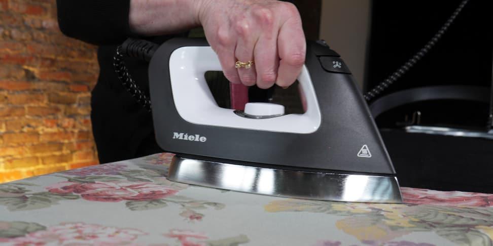 Ironing-a-pillowcase