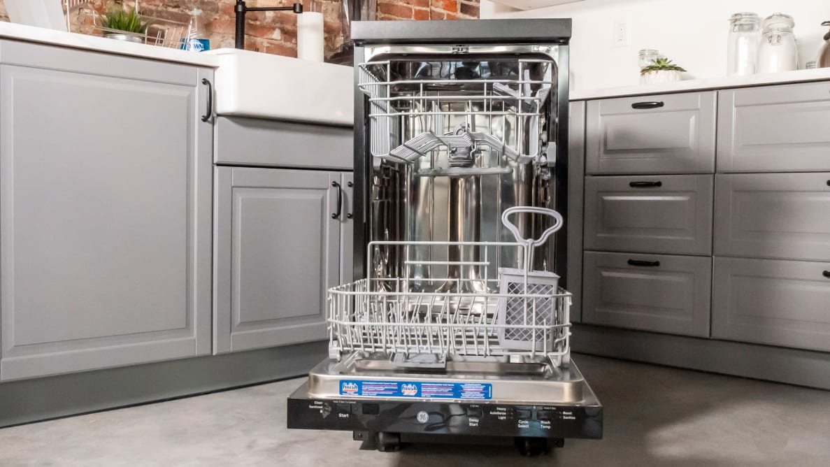 GE GPT145SSLSS Portable Dishwasher Review