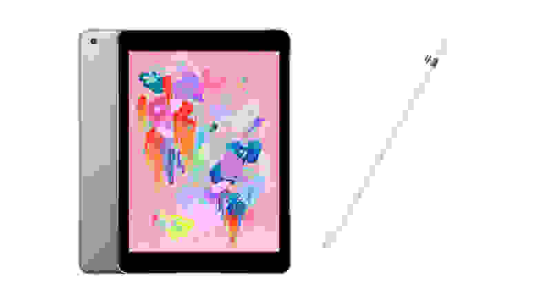 Apple iPad and Apple Pencil