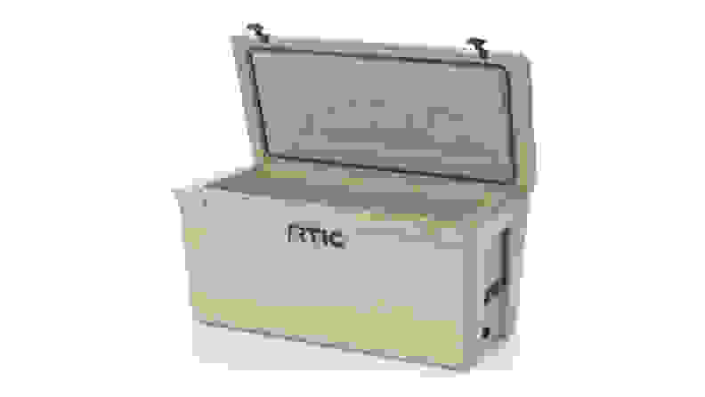RTIC cooler against a white background.
